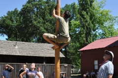 Greased Pole Contest 2011