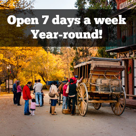 Columbia SHP is open 7 days a week, year-round!